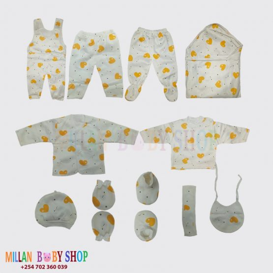 11Pc Baby Outfit