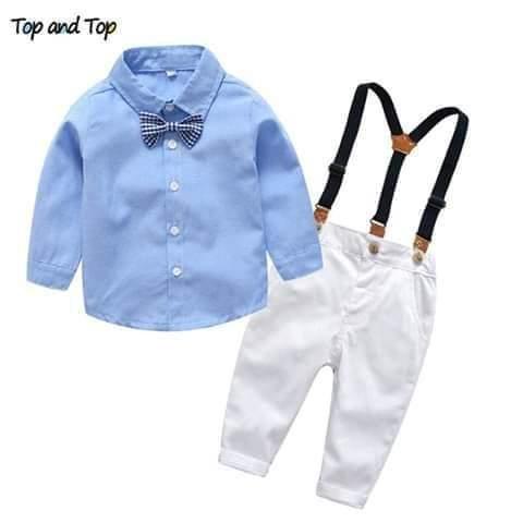 Suspender Boy Suit