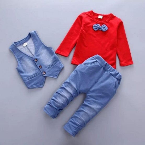 Denim Outfit 3 Pc