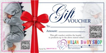New Born Shopping Gift Voucher